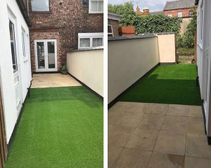 artificial grass and yards wigan